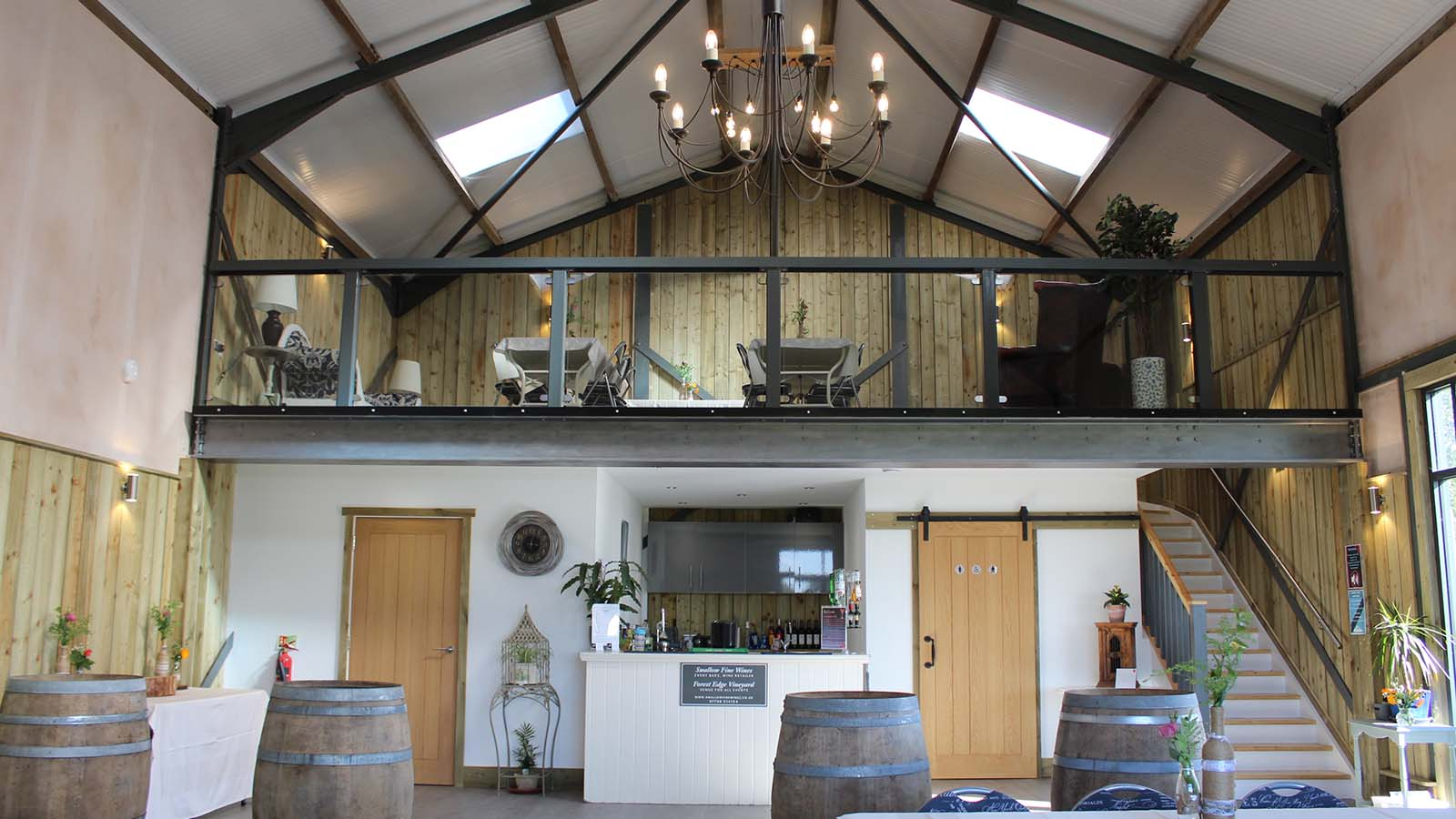 weddings, corporate and special events at Forest Edge Vineyard